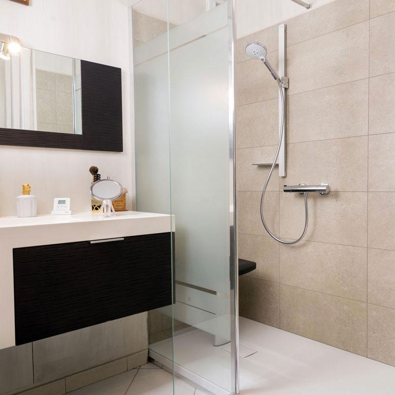transformation baignoire en belle douche italienne secure